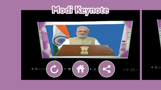 screenshot of Modi KeyNote version 3.2