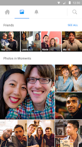 screenshot of Moments by Facebook version 36.4.0.8.26