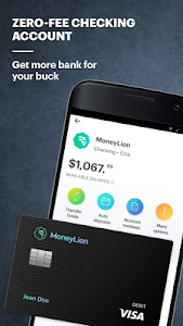 screenshot of MoneyLion: Bank, Borrow, and Invest version 6.4.0