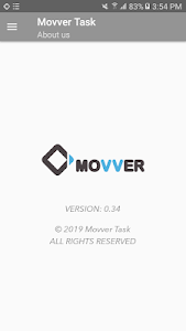 screenshot of Movver Task (Task Manager) version 0.43