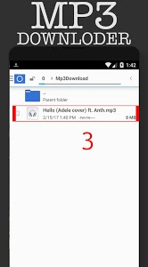 screenshot of Mp3 music download Pro 2017 version 1.1