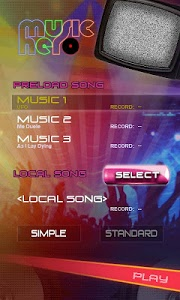 screenshot of Music Hero - Rhythm Beat Tap version 2.3