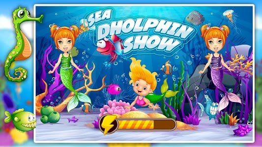 screenshot of My Dolphin Pool Water Show: Sea Animal Games version 1.0