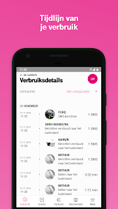 screenshot of My T-Mobile - Nederland version Varies with device