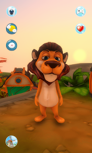screenshot of My Talking Lion version 1.0.3
