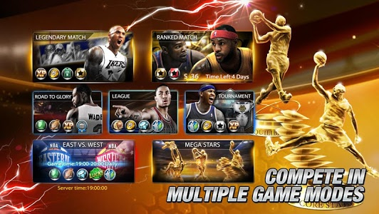 screenshot of NBA All Net version 7.2