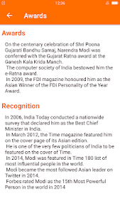 screenshot of Narendra Modi (Namo) PM For 2019 News App version 1.0