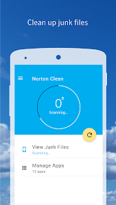 screenshot of Norton Clean, Junk Removal version 1.4.2.77