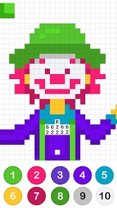 screenshot of Colors by Number ® - No.Draw version 1.3.4