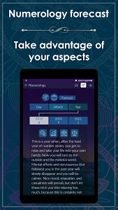 screenshot of Numerology - Rediscover Your Life Purpose version 3.1.4
