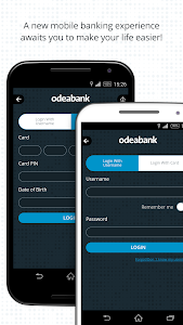 screenshot of Odeabank version 1.7.2