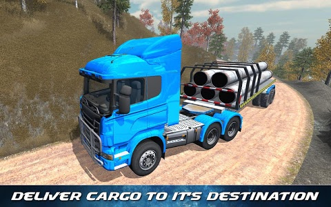 screenshot of Off Road Trailer Truck Driver version 1.0.4