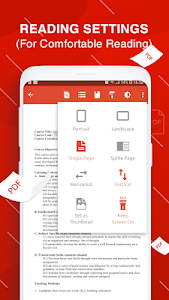 screenshot of PDF Reader for Android version 85