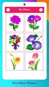 screenshot of Paint Flowers version 3.0