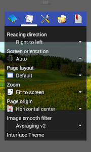 screenshot of Perfect Viewer version 4.4