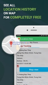 screenshot of Phone Tracker By Number, Family & Friend Locator version 1.3.5