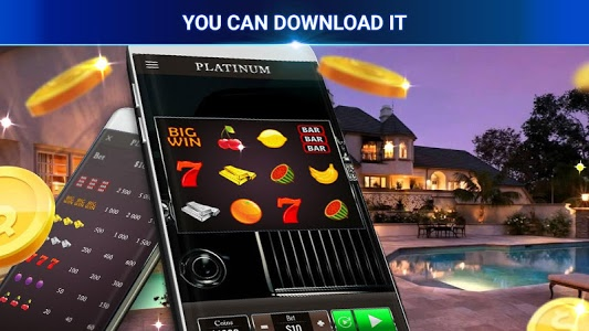 screenshot of Platinum Win Slots version 1.0.0