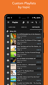 screenshot of Podcast Addict version 4.10.5
