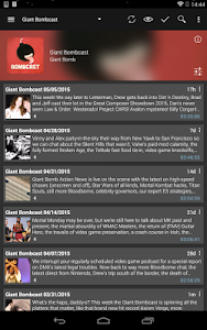 screenshot of Podcast & Radio Addict version 3.23.3