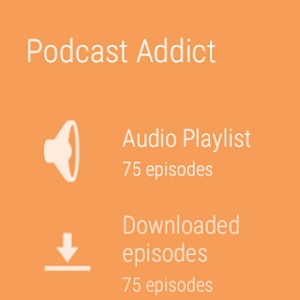 screenshot of Podcast & Radio Addict version 3.26