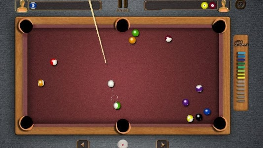 screenshot of Pool Billiards Pro version 4.3