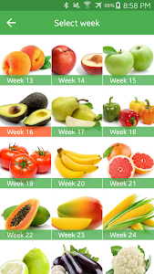 screenshot of Pregnancy Week By Week version 1.2.43