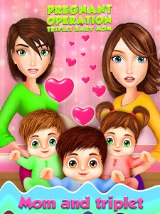 screenshot of Pregnant Operation Triplet Baby Mom Care Hospital version 1.1.6
