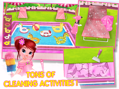 screenshot of Princess House Cleanup For Girls: Keep Home Clean version 14.0.0