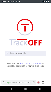 screenshot of Privacy Browser by TrackOFF version 4.3