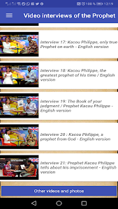 screenshot of Prophet Kacou Philippe (Official) version 5.8.85