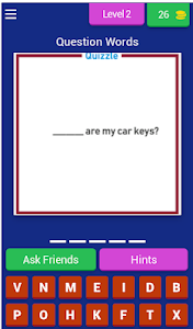 screenshot of Quizzle :: English Puzzle version 3.2.8z
