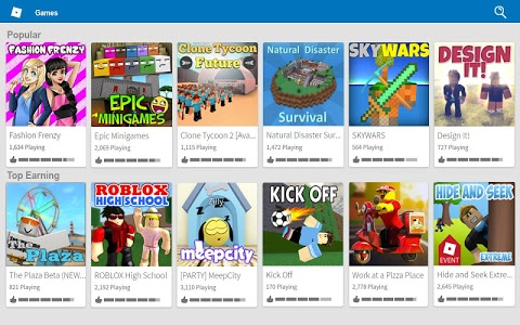 screenshot of ROBLOX version 2.337.201523