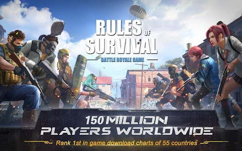screenshot of RULES OF SURVIVAL version 1.163895.168993