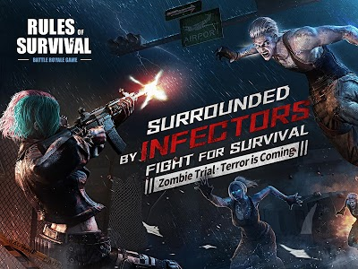 screenshot of RULES OF SURVIVAL version 1.261246.275622