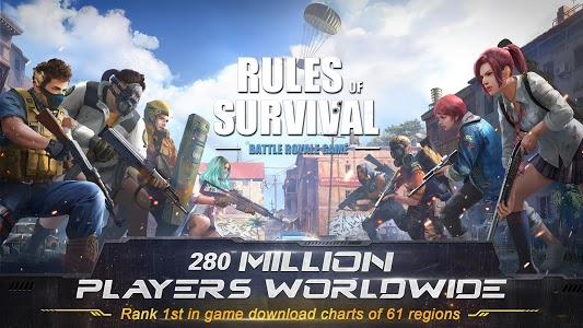 screenshot of RULES OF SURVIVAL version 1.367158.370087