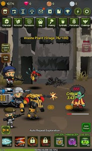 screenshot of Raising Mercenary - Idle Clicker version 1.2.0