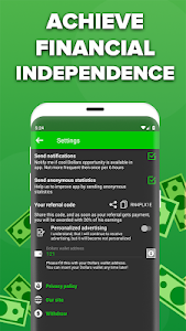 screenshot of Real Dollar - Fast Money Earning Without Ads version 1.0