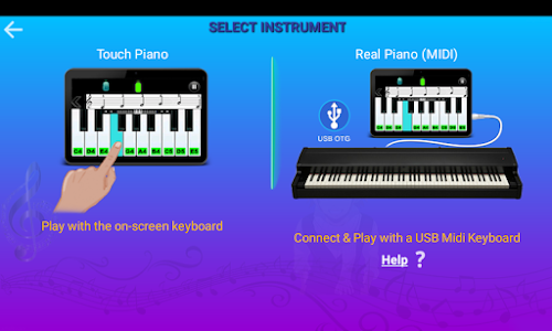 screenshot of Real Piano Teacher version 6.2