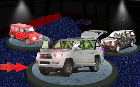 screenshot of Real Land Cruiser Drive: Jeep Games version 1.2.04