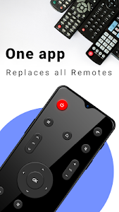 screenshot of Remote Control for TV - Universal TV Remote (IR) version 2.5
