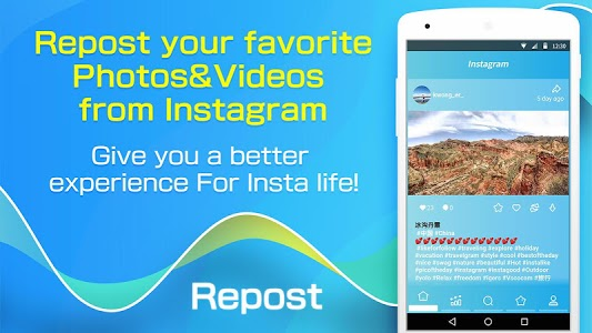 screenshot of Repost & Download Story for Instagram version 1.0.8