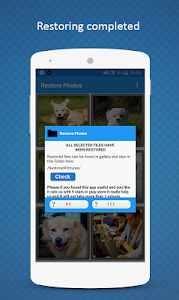 screenshot of Restore Deleted Photos version Varies with device