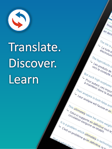 screenshot of Reverso Translate and Learn version 9.7.0