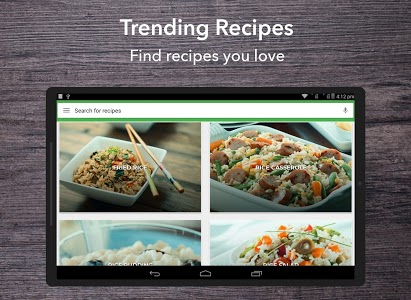 screenshot of Rice Recipes : Fried rice, pilaf version Varies with device