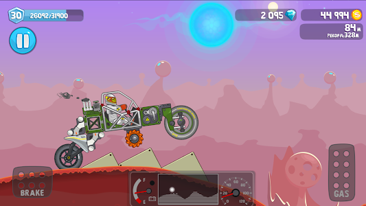 screenshot of Rovercraft: Race Your Space Car version 1.40