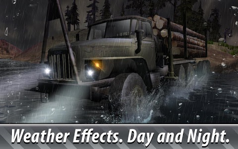 screenshot of Russian Trucks Offroad 3D version 1.14