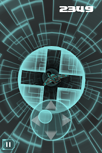 screenshot of ST-3D-R Guide your spaceship through the obstacles version 1.2.5