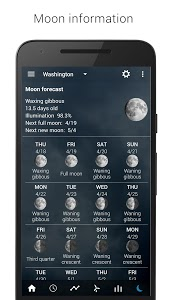 screenshot of Sense V2 Flip Clock & Weather version 5.70.0.4