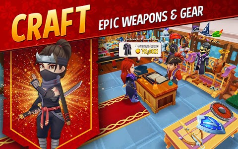 screenshot of Shop Titans: Epic Idle Crafter, Build & Trade RPG version 3.2.2