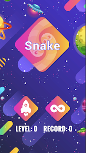 screenshot of Snake version 0.1